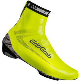 GripGrab RaceAqua Hi-Vis Waterproof Shoe Cover Fluo Yellow